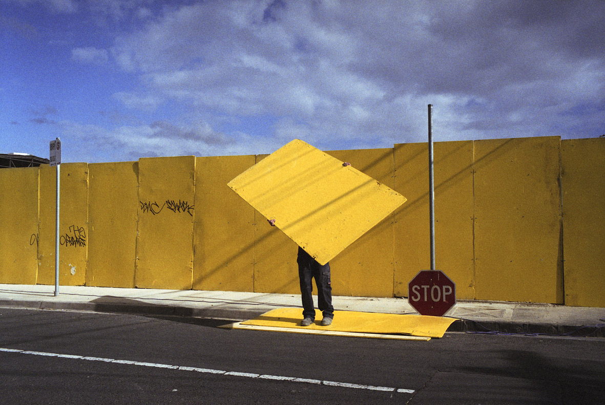 Jesse Marlow,  Stop , 2011, pigment print, edition of 10