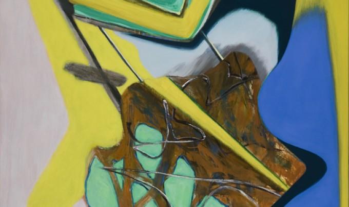 David Palliser, Remedy , 2012, oil on canvas, 160 x 130cm