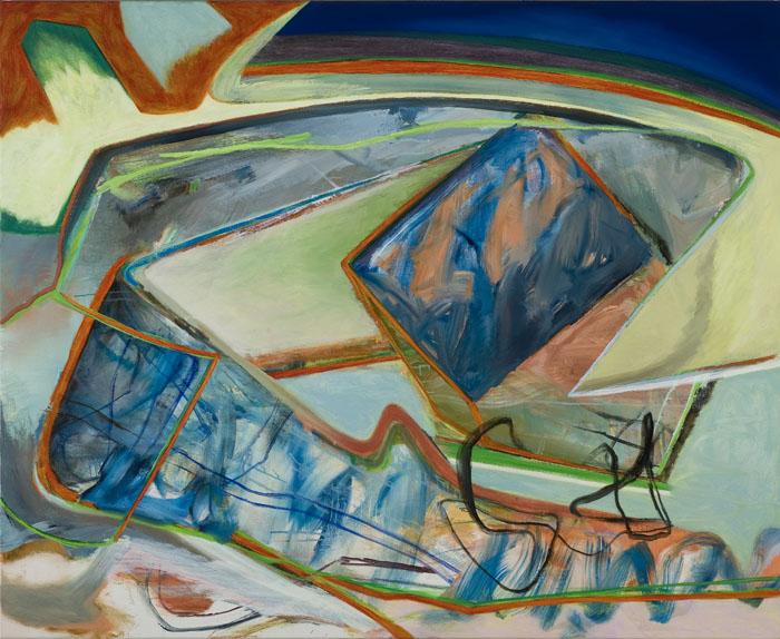 David Palliser, Magnesium , 2011, oil on canvas, 112 x 137cm