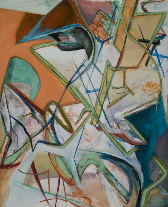 David Palliser, Surplus , 2011, oil on canvas, 137 x 112cm