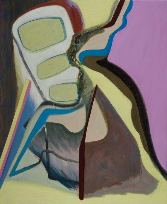David Palliser, When We Are  , 2011, oil on canvas, 137 x 112cm