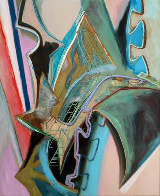 David Palliser,  Lame and Free , 2012, 137 x 112cm