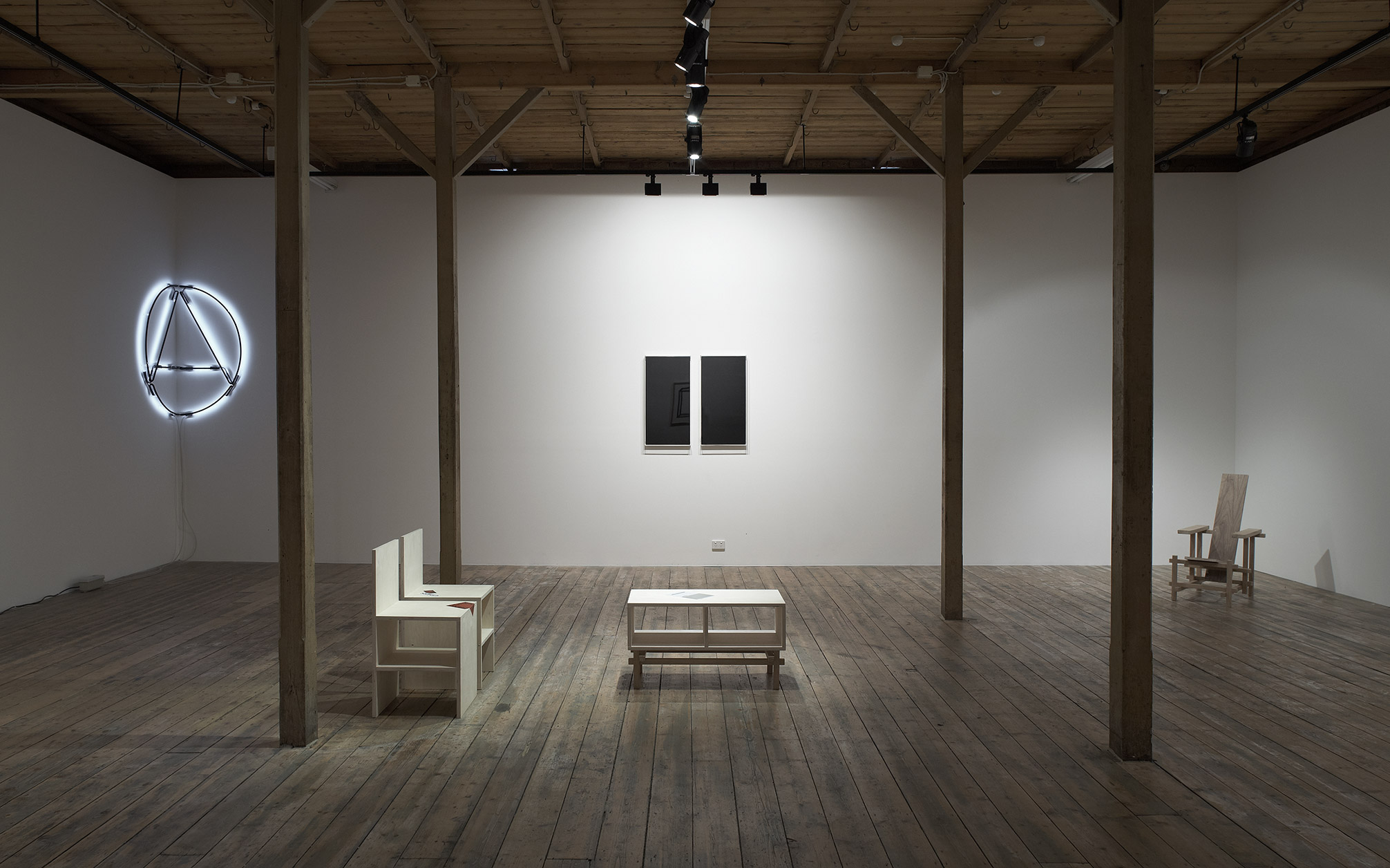 Brad Haylock,  Without Time , 2011, installation image