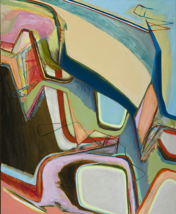 David Palliser,  Must Open , 2011, oil on canvas, 137 x 112cm