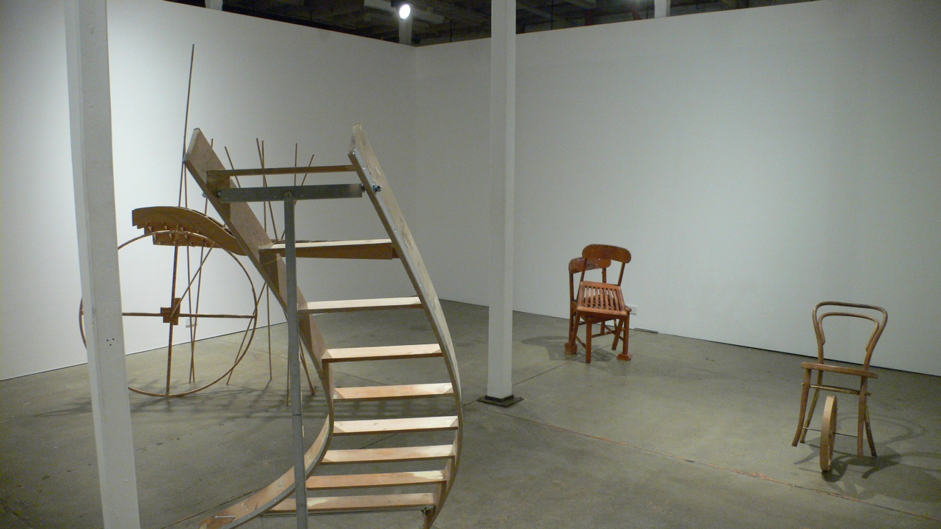 Johnnie Dady,  An Uncertain Object , 2011, installation image