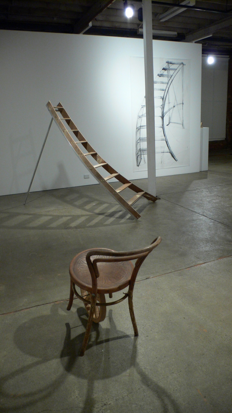 Johnnie Dady,  An Uncertain Object (Barrow, In anticipation of a signature touch (light applause only) and In anticipation of a signature touch (drawing)),  2011, installation image