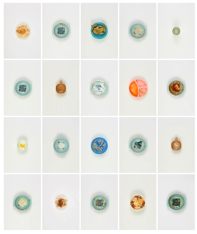 Vin Ryan,  20 Meals Eaten by Lewis 2010 , 2010, digital print on archival paper, 90 x 75cm