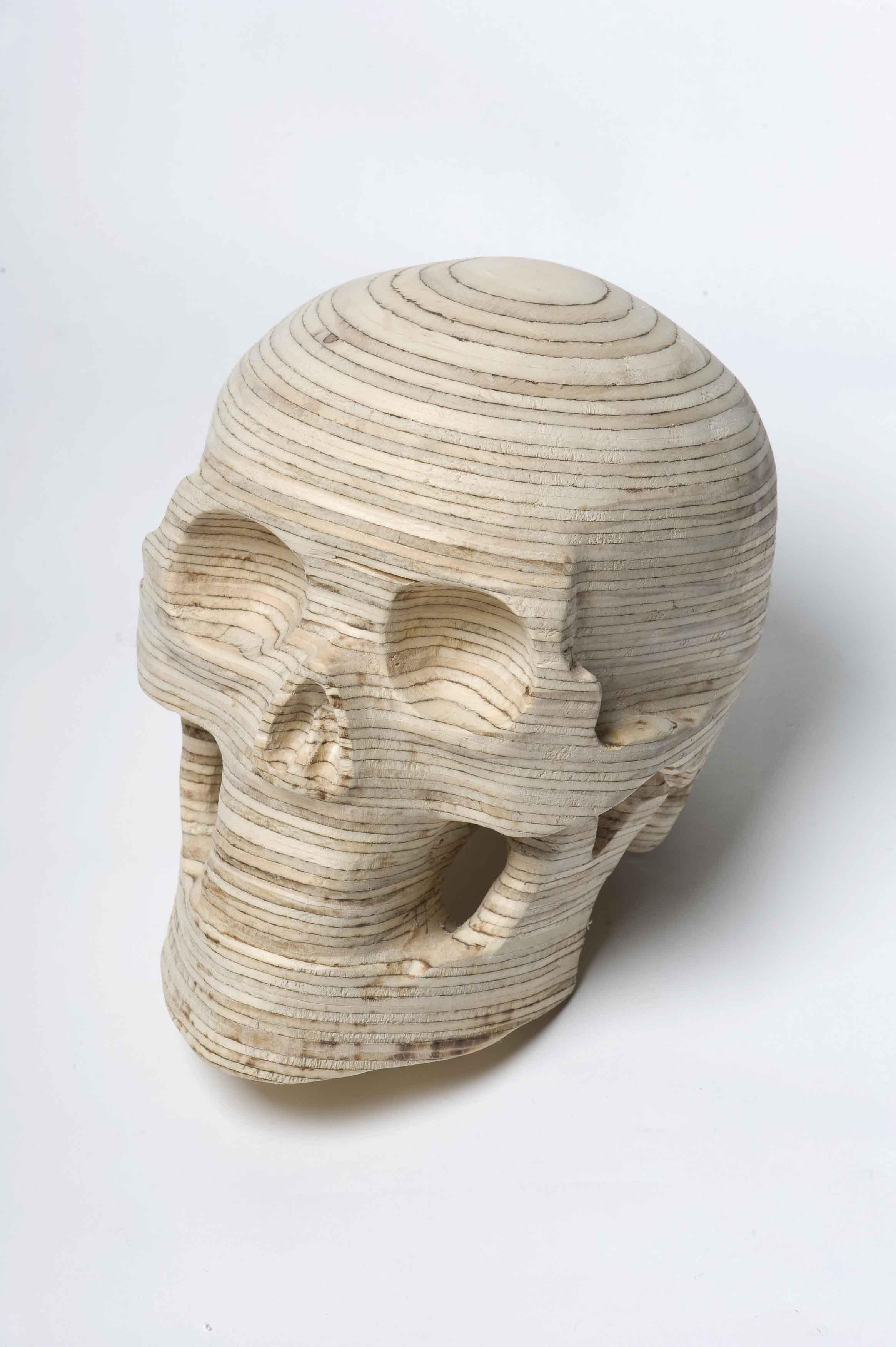 Kent Wilson,  Leaflet 2 , 2012, plywood, 19 x 17 x 20cm