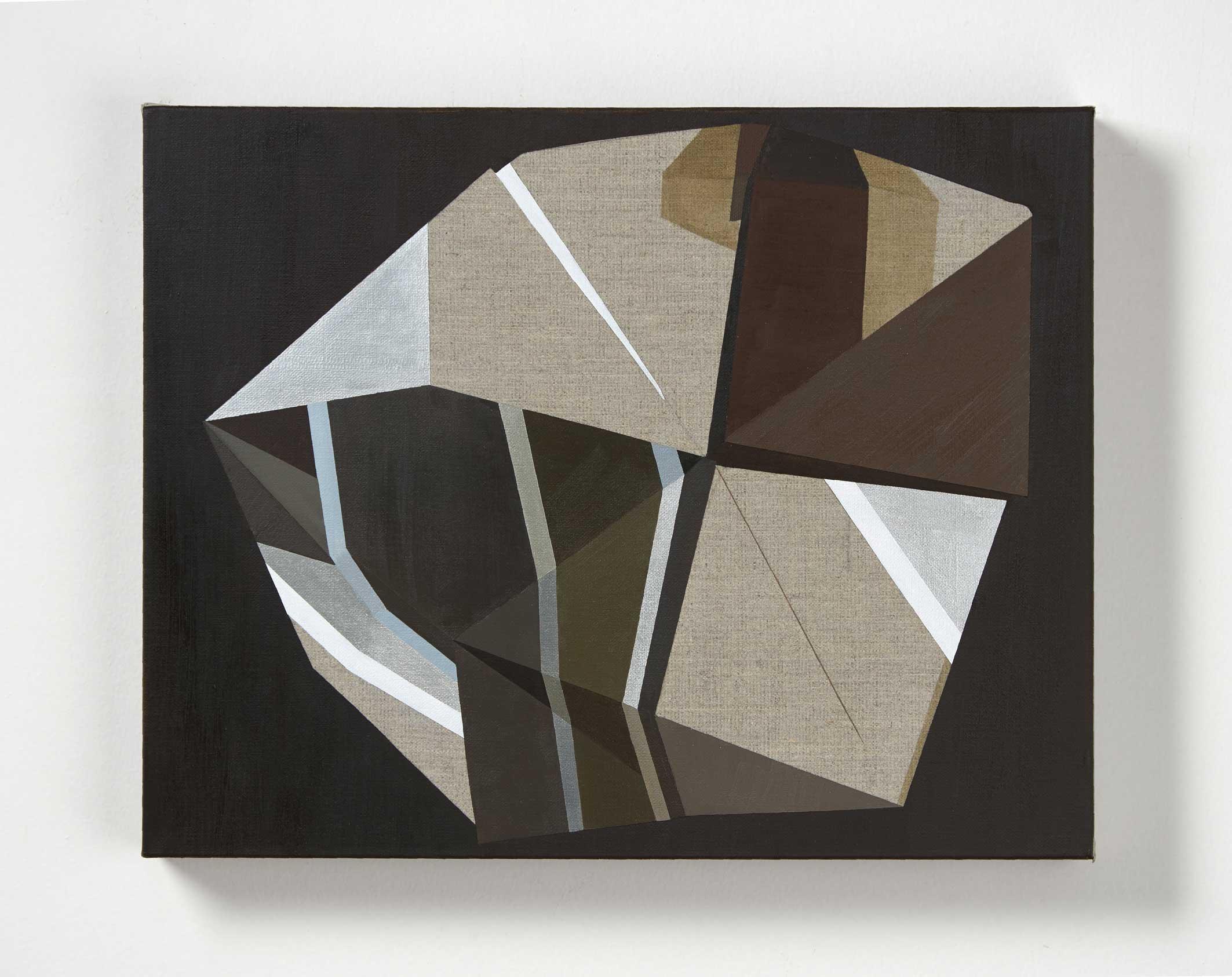 Andrea Eckersley, Partial Umbra, 2017. Oil on linen. 45 x 35xm LR