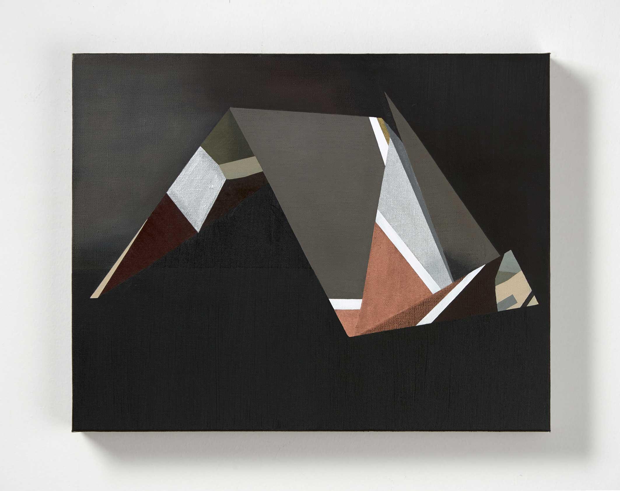 Andrea Eckersley, Partial Penumbra, 2017. Oil on linen, 45 x 35cm LR.