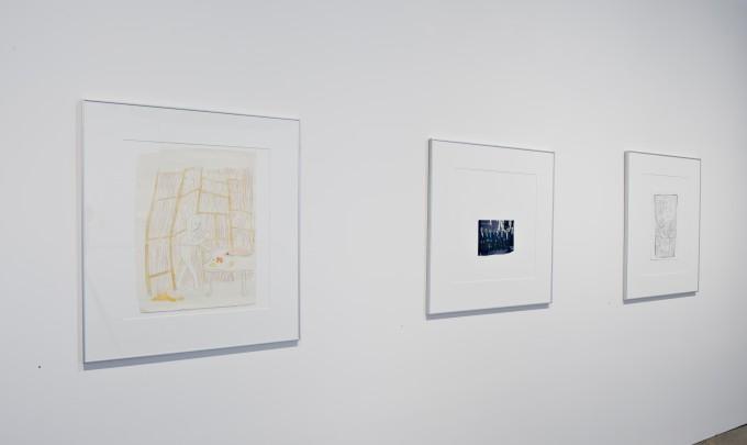 Geoff Newton, Works on Paper, 2009, installation image