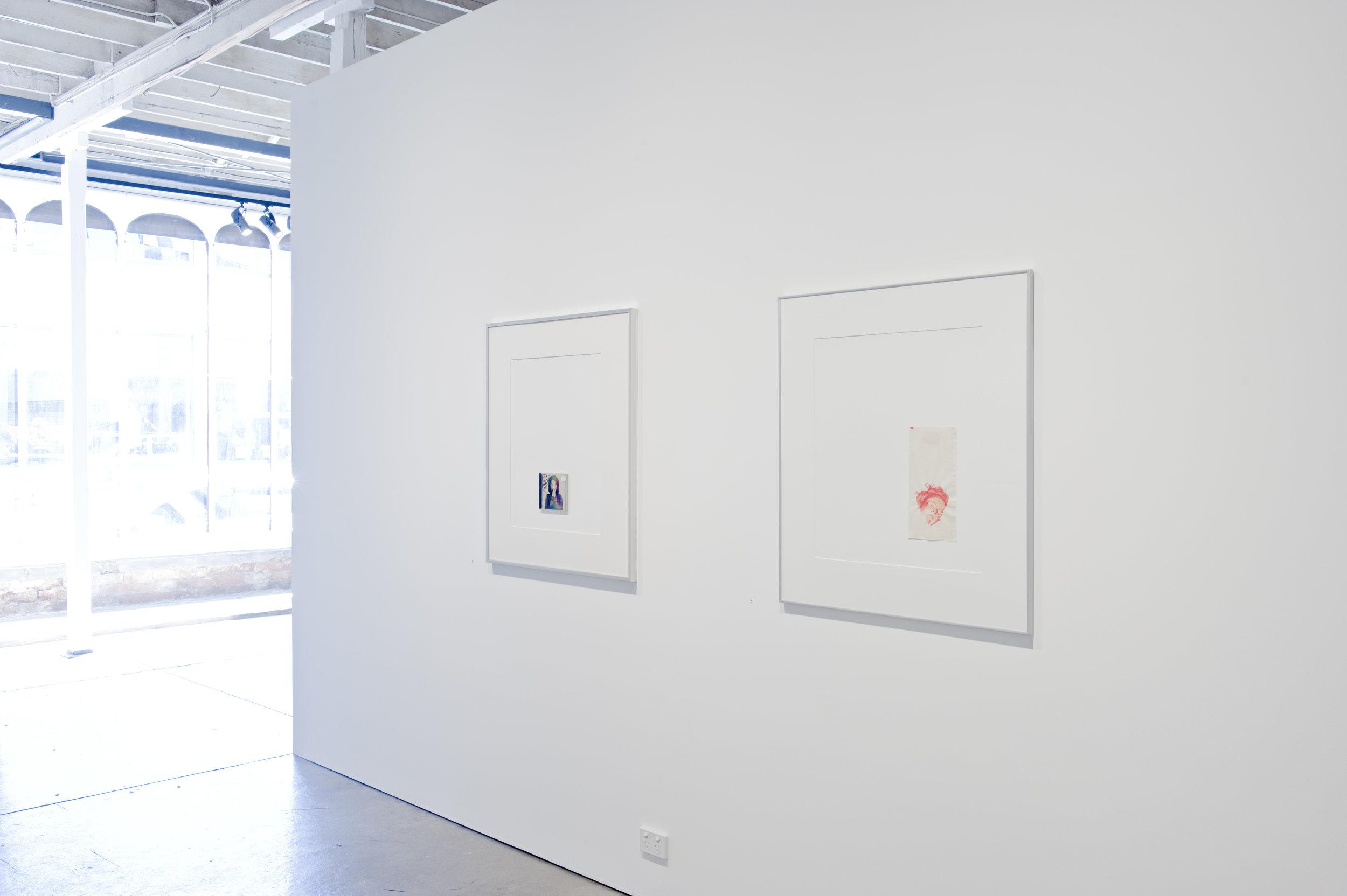 Geoff Newton, Works on Paper, 2009, instalelation image