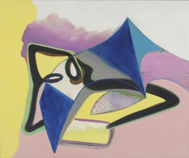 David Palliser, Summer Foam Hut, 2009, 102 x 122cm