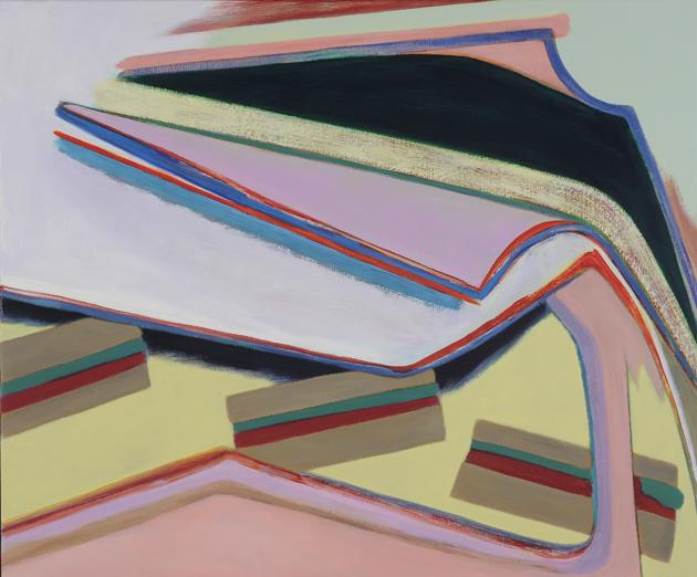 David Palliser, Shelter for E.L.K., 2009, 102 x 122cm
