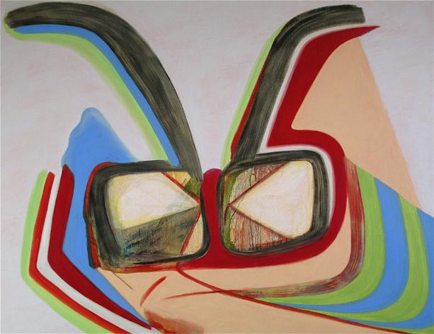 David Palliser, Illusion, 2009, 118 x 153cm