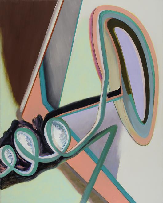 David Palliser, Nerve Bangle, 2010, 153 x 122cm