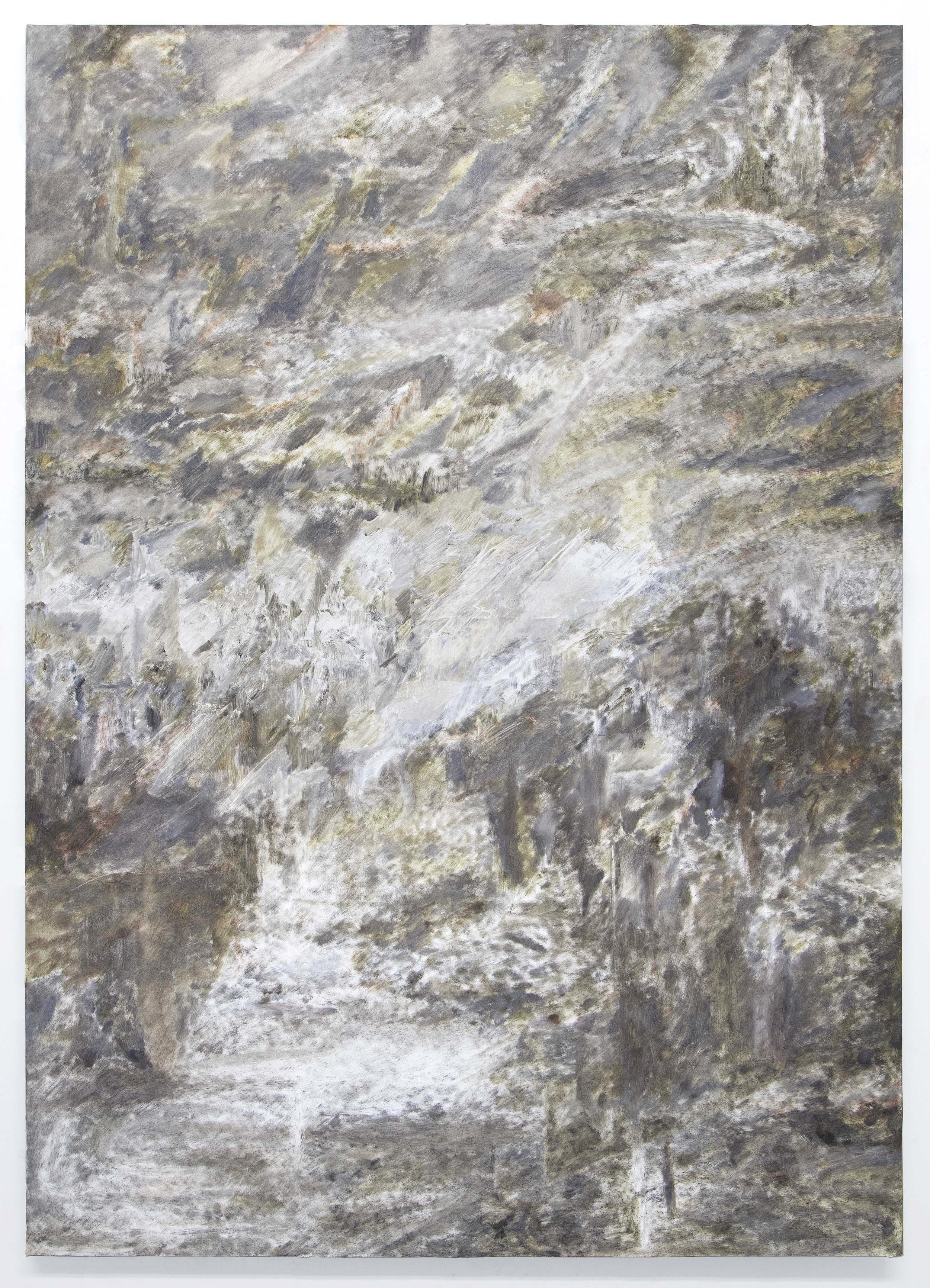 Tim Bučković, Untitled, 2017, oil on linen, 122 x 86cm