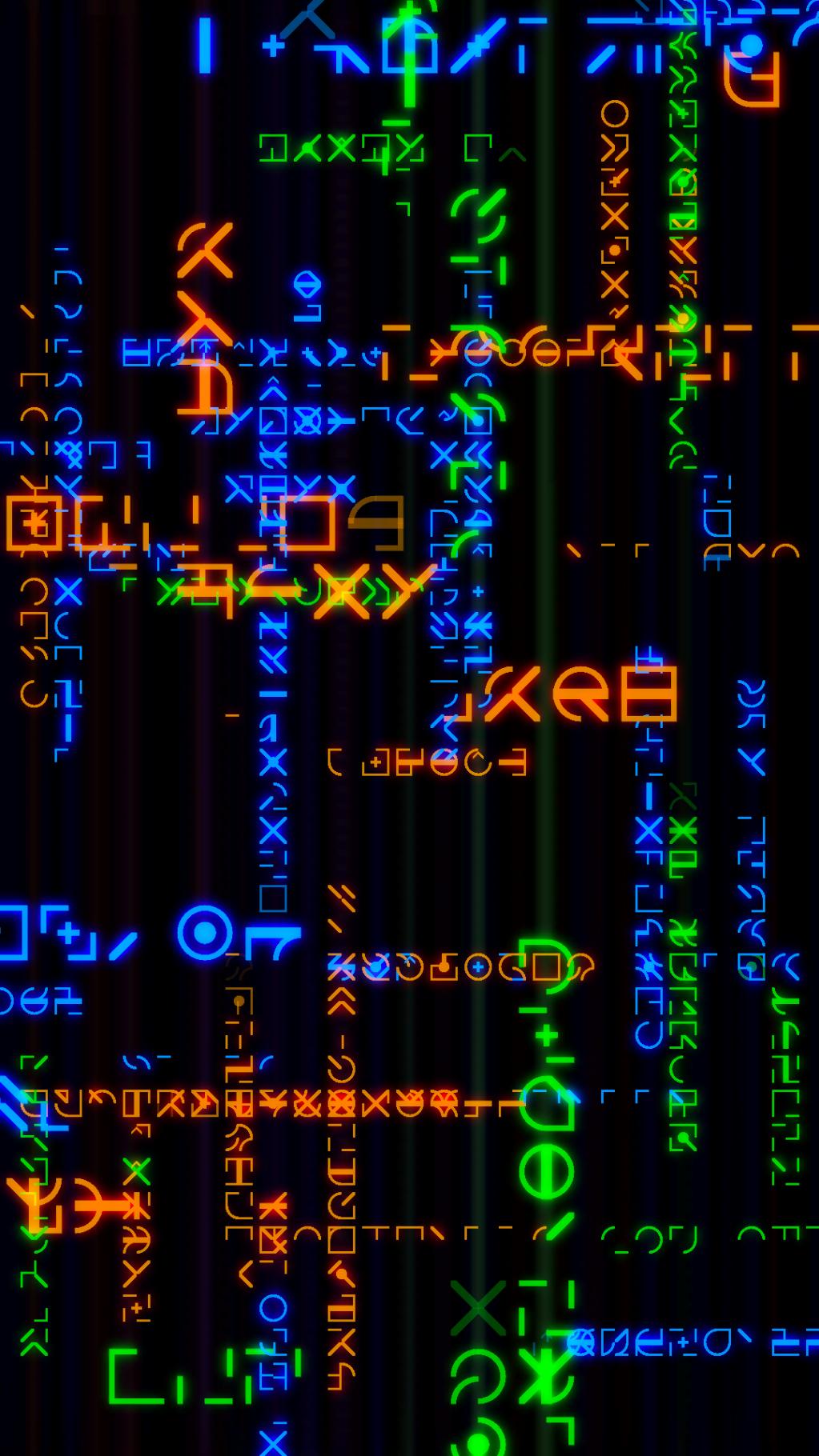 autolingua 37 , 2017 generative animation with stereo sound (three) 20 minutes edition of three