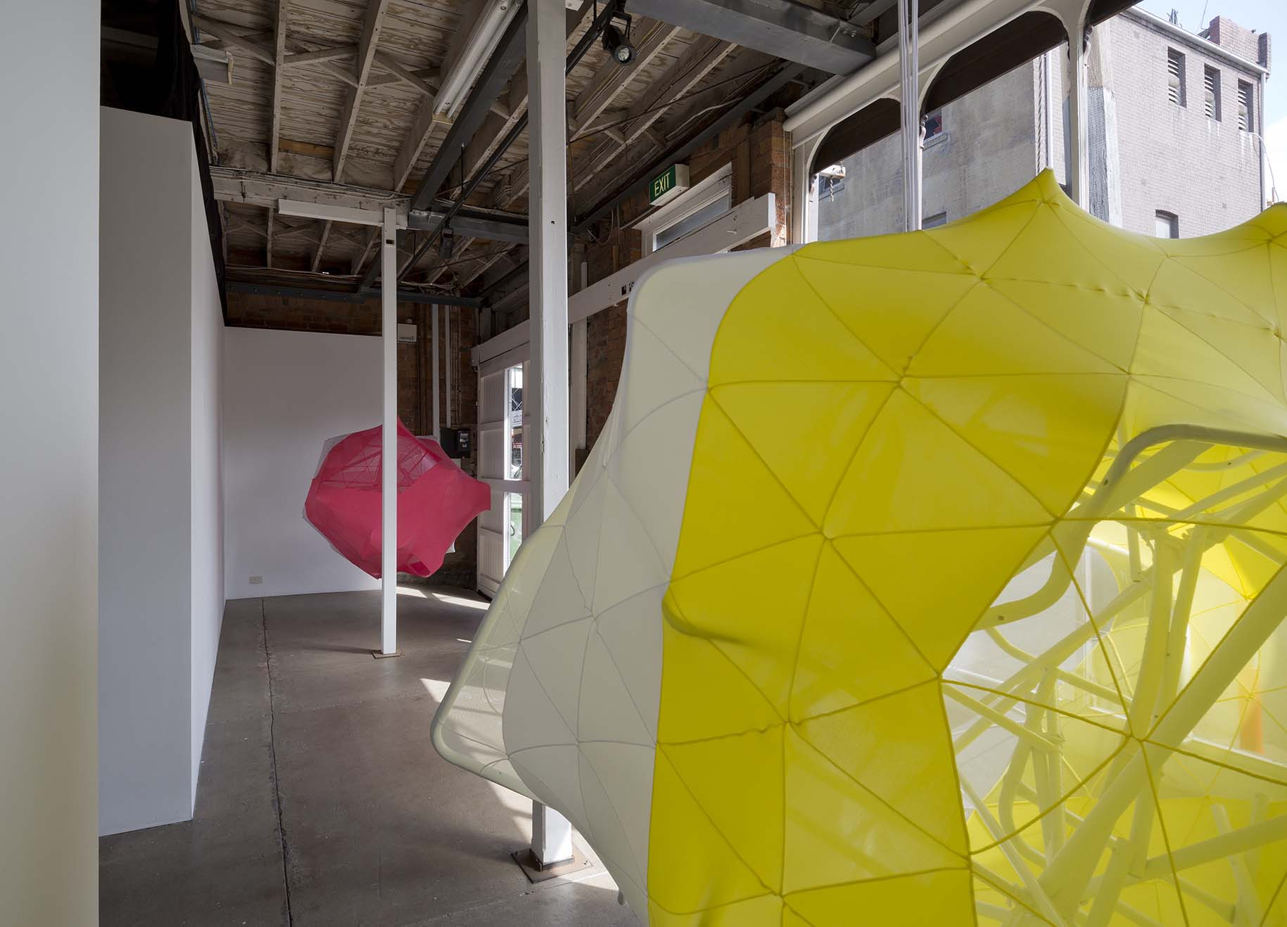 Melanie Irwin, Hemispherical Envelope, installation view