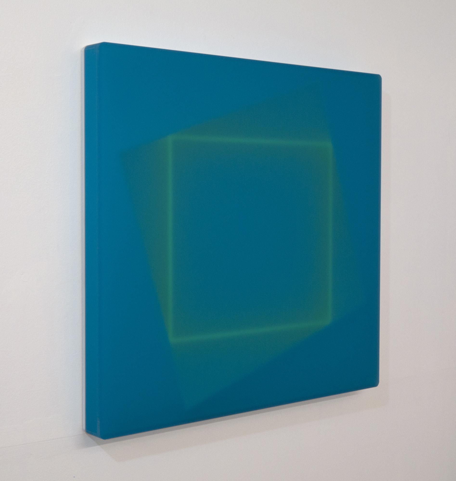 Karyn Taylor, Observer's Gaze, 2017, cast acrylic, 42 x 48 x 2.5cm, side view.jpg