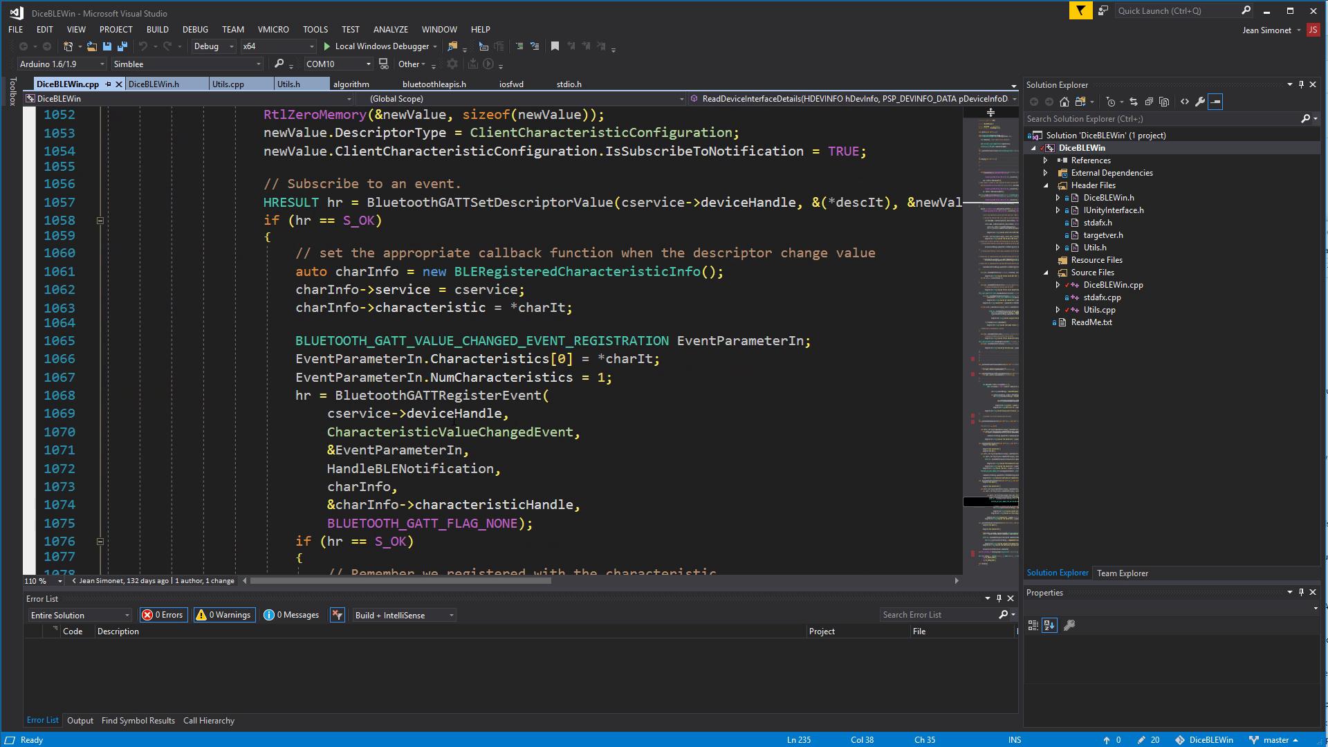 Yum... Win32 APIs...