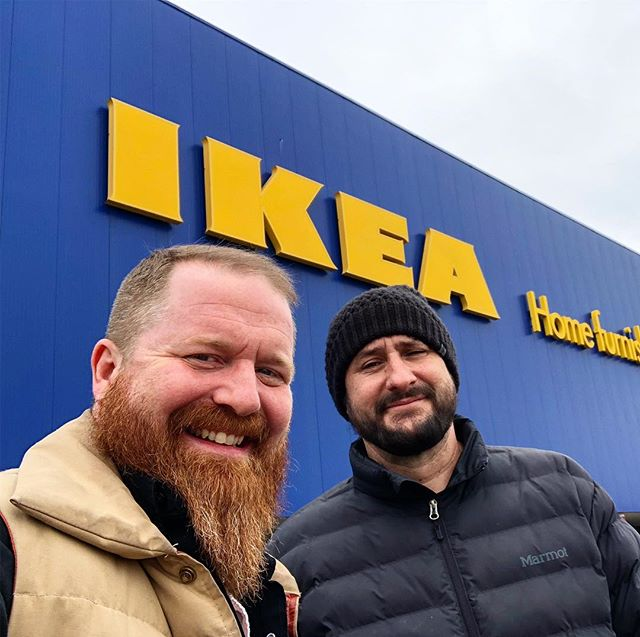 Friendship Test Score:  10/10.  If you can survive Ikea together, well then you're ride or die for life.  See you tonight at The Doghouse in the Twin Cities where we'll be assembling our new furniture in between sets.  #pianopaloozaband