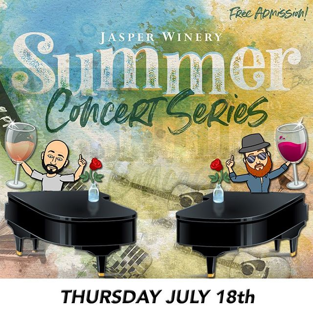 Full band show 6-9pm!  Bask in the glory of the best music ever written performed by men fueled by the blood of Christ! #pianopaloozaband #iowaduelingpianos