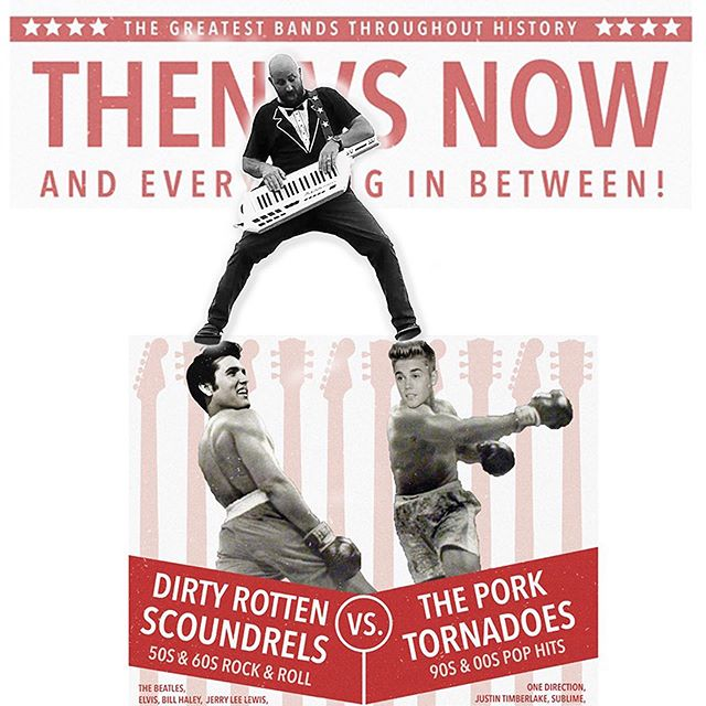 Have a threesome with your favorite bands @the_pork_tornadoes @scoundrelsmusic and @pianopalooza this Friday at @nitefalldsm!