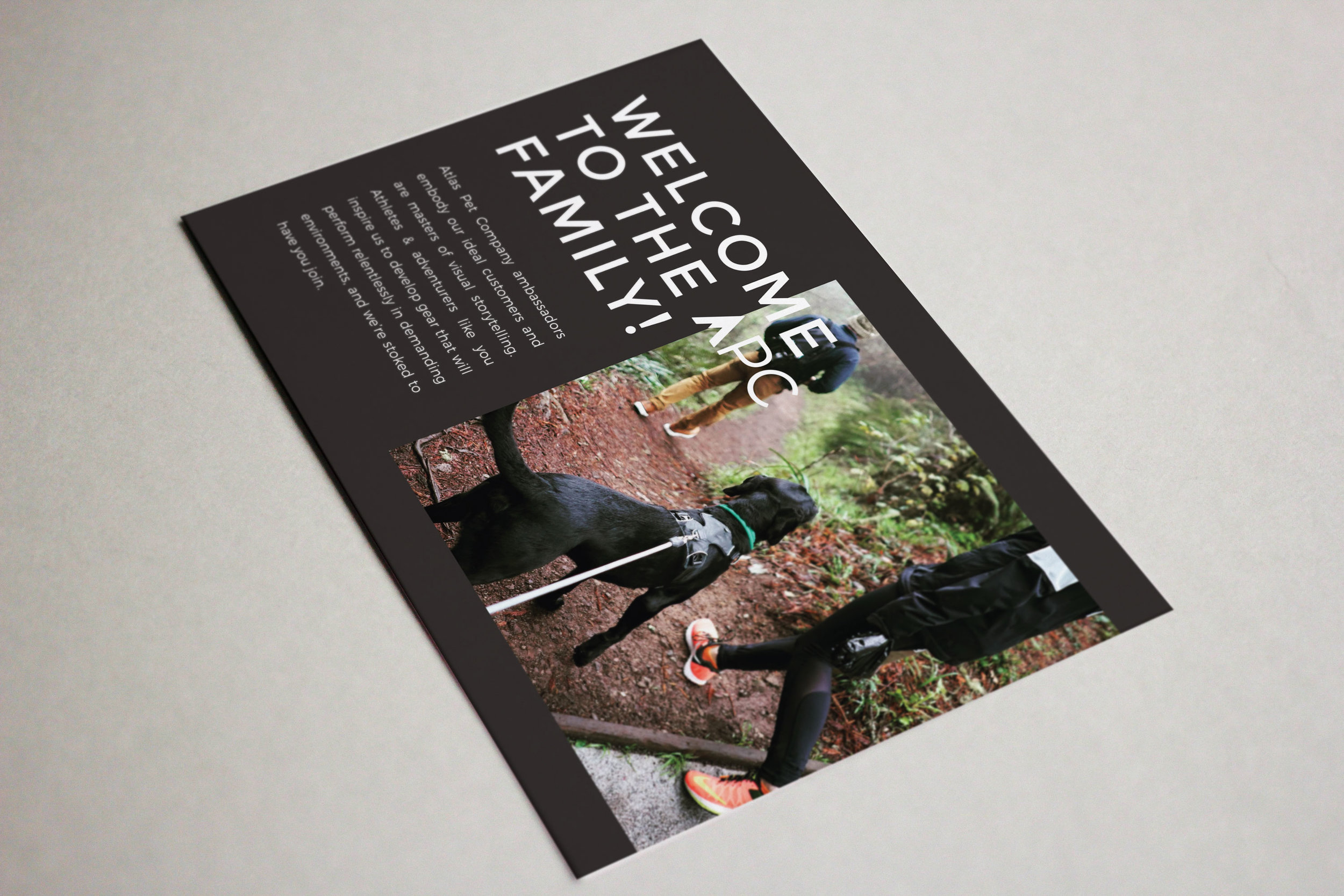 Atlas Pet Company Postcard
