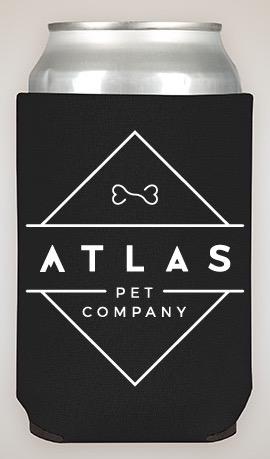 Atlas Pet Company Beer Koozie