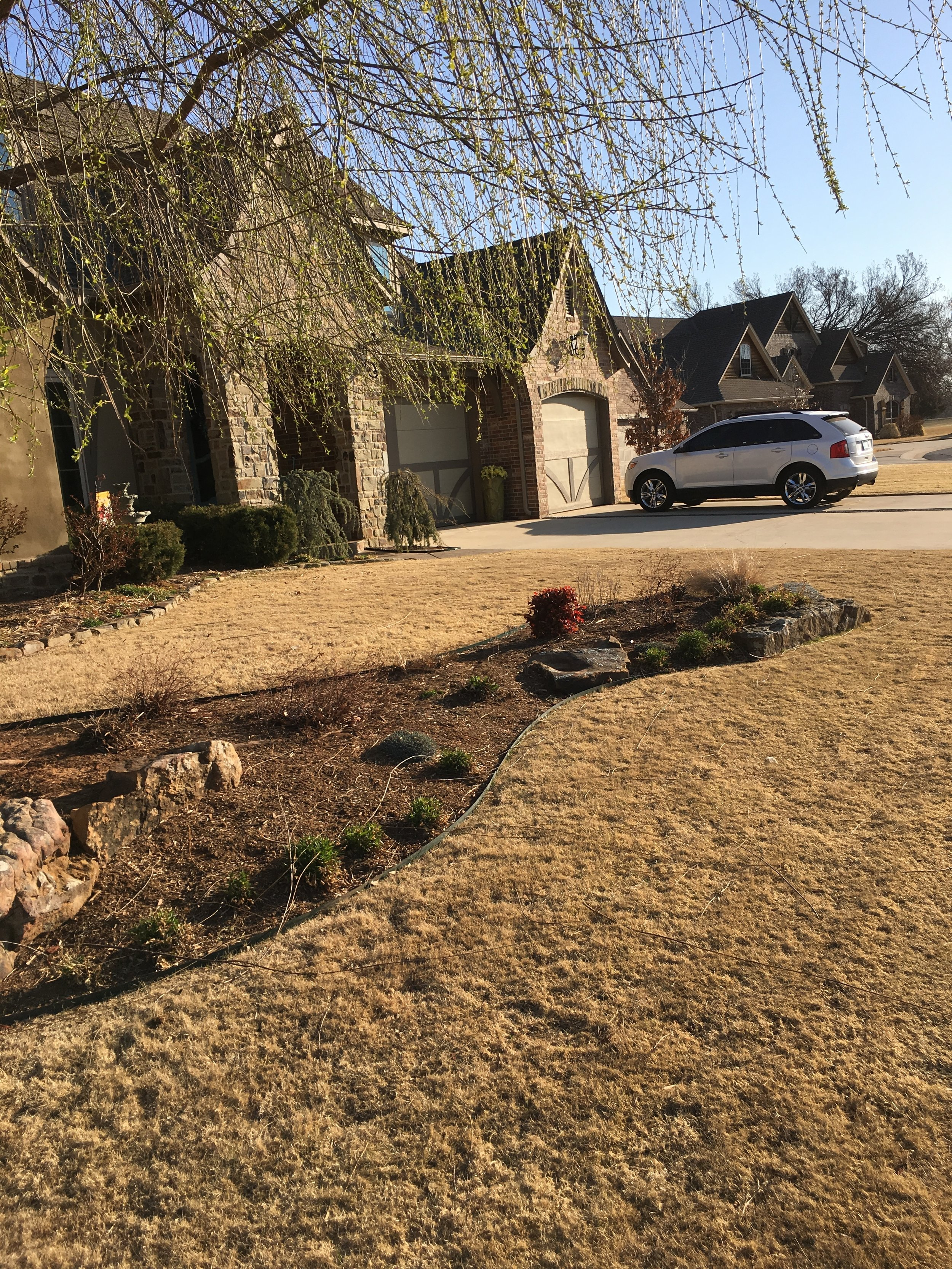 Dormant Bermuda will be weed free in February and March when both fall pre-emergent applications are on schedule.