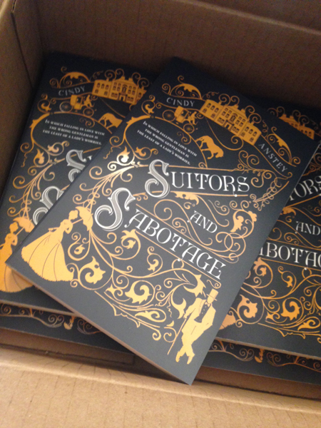 Soon in Trade paperback! - April 16, 2019 Suitors and Sabotage (available now in Hardcover) will be released in… you guessed it, Trade Paperback!