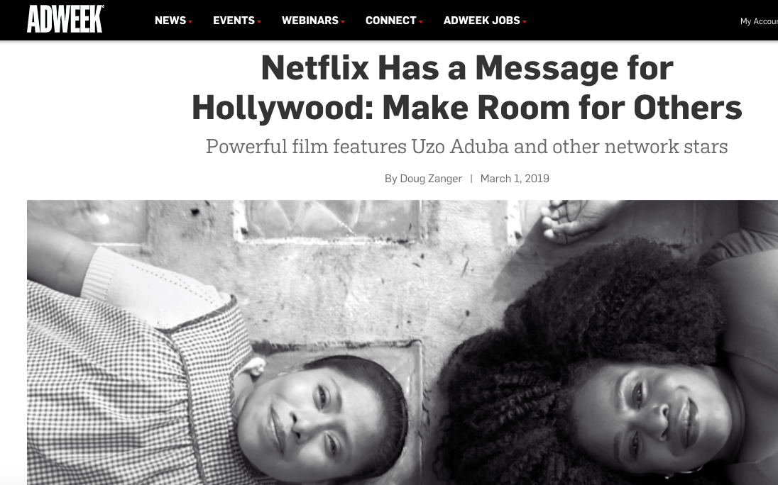 "Netflix ""Make Room"" Campaign by Red & Co."