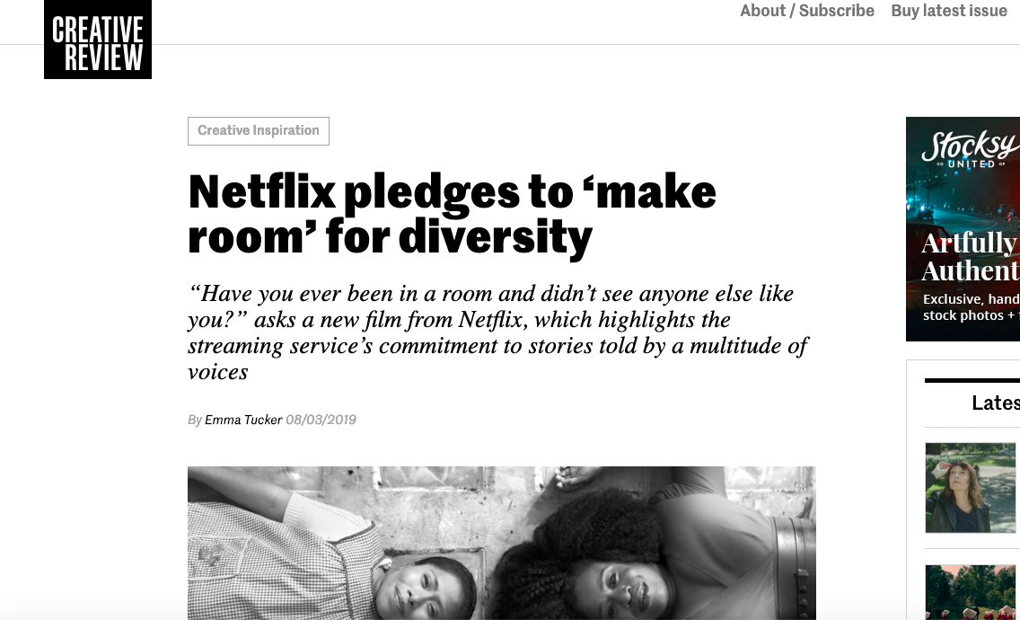 "Creative Review: Red & Co's ""Make Room"" Campaign for Netflix"