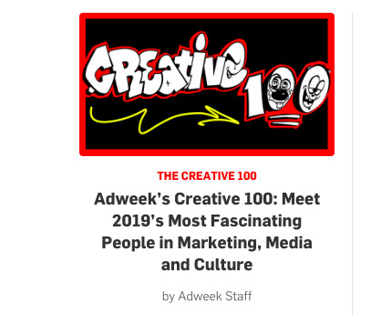 Adweek's Creative 100: Mira Kaddoura, Red & Co.