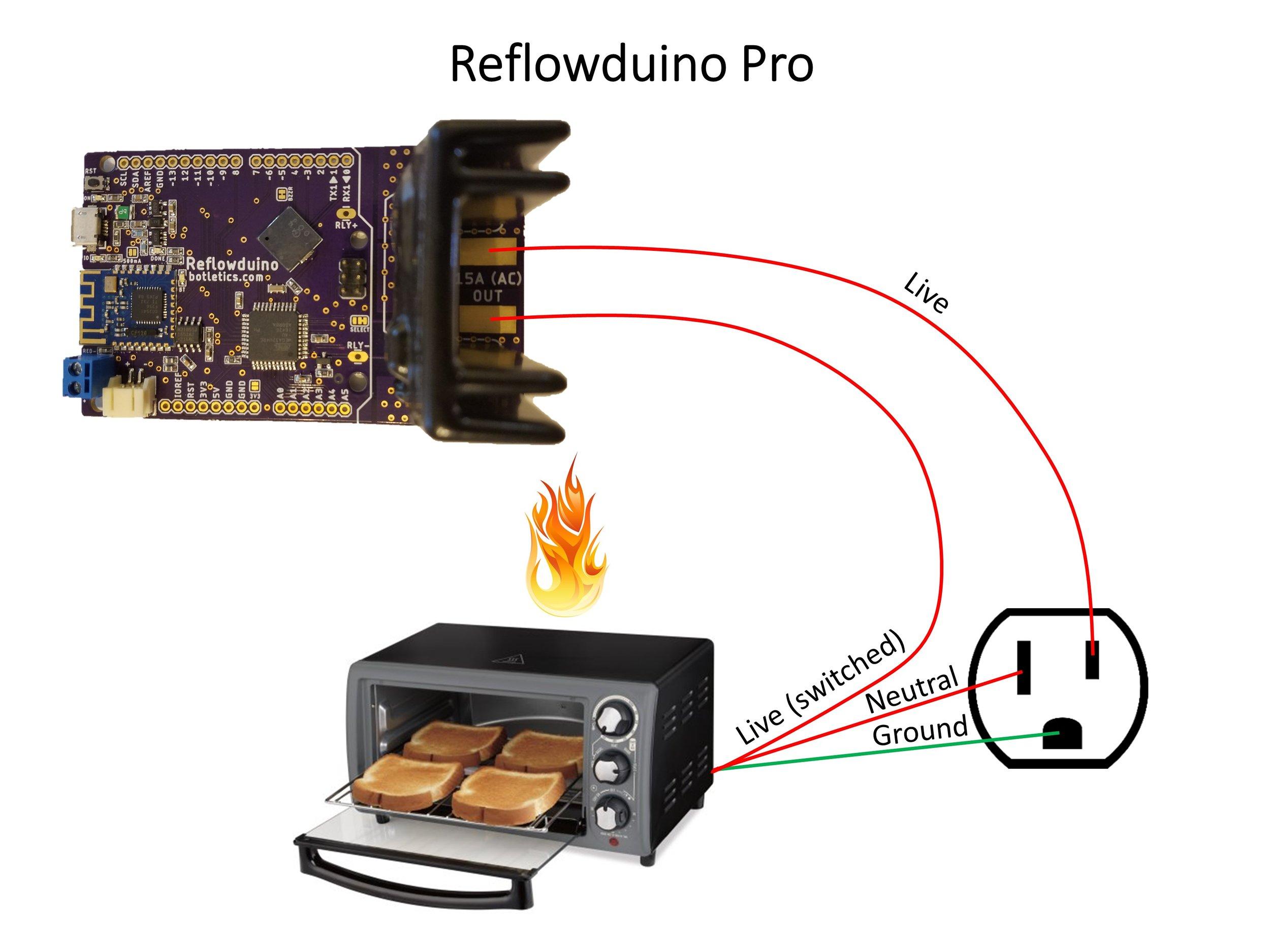 Reflowduino Pro Wiring Diagram