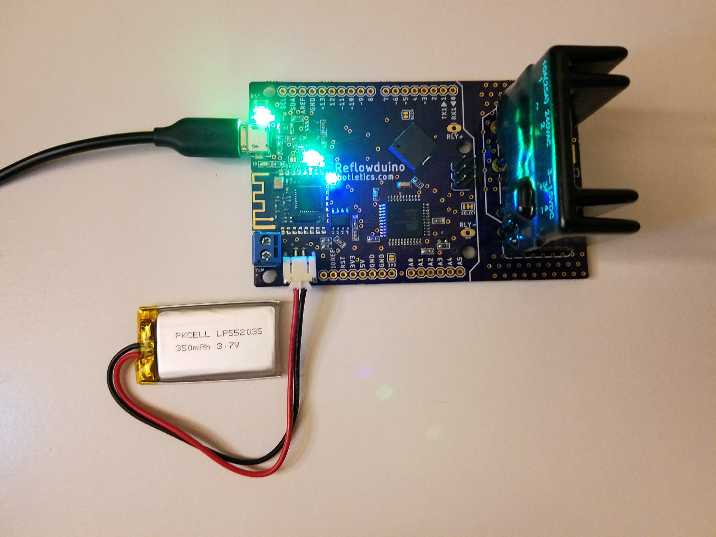 LiPo Battery Support
