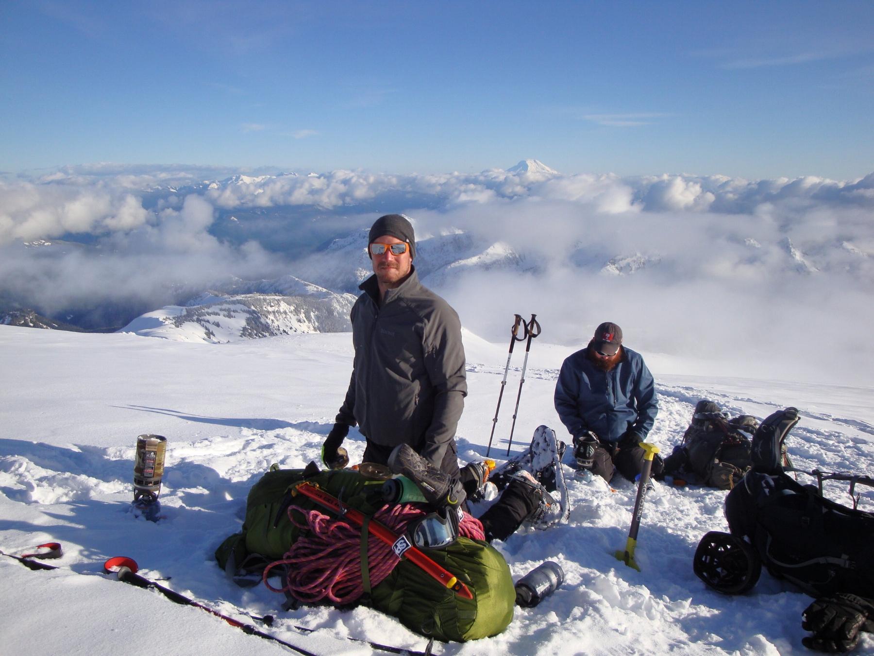 Prior training on Mt. Rainier