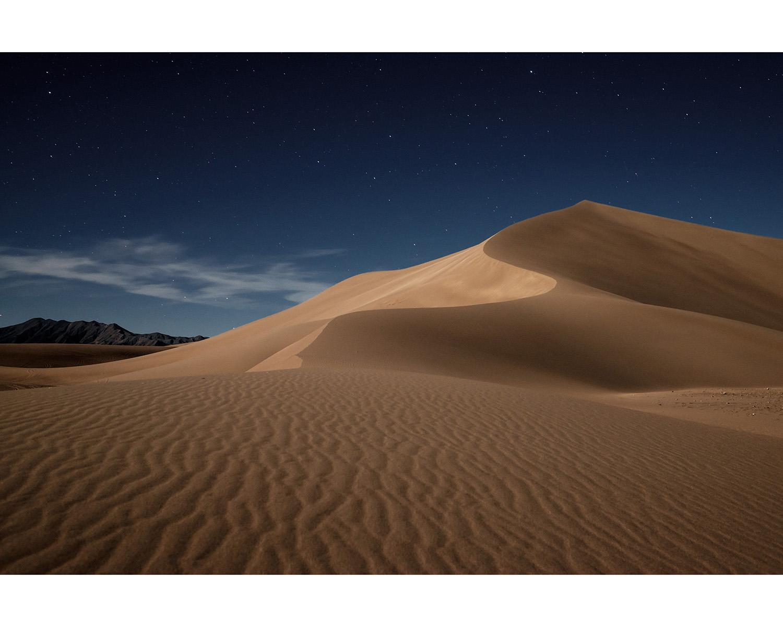 Amargosa Dune by Moonlight