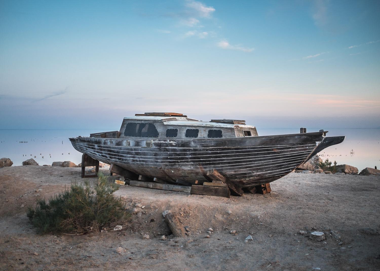 Shipwreck, Salton Sea