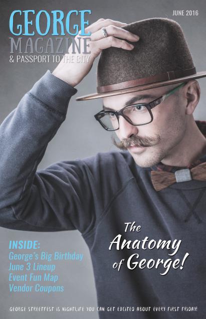 George Magazine Cover
