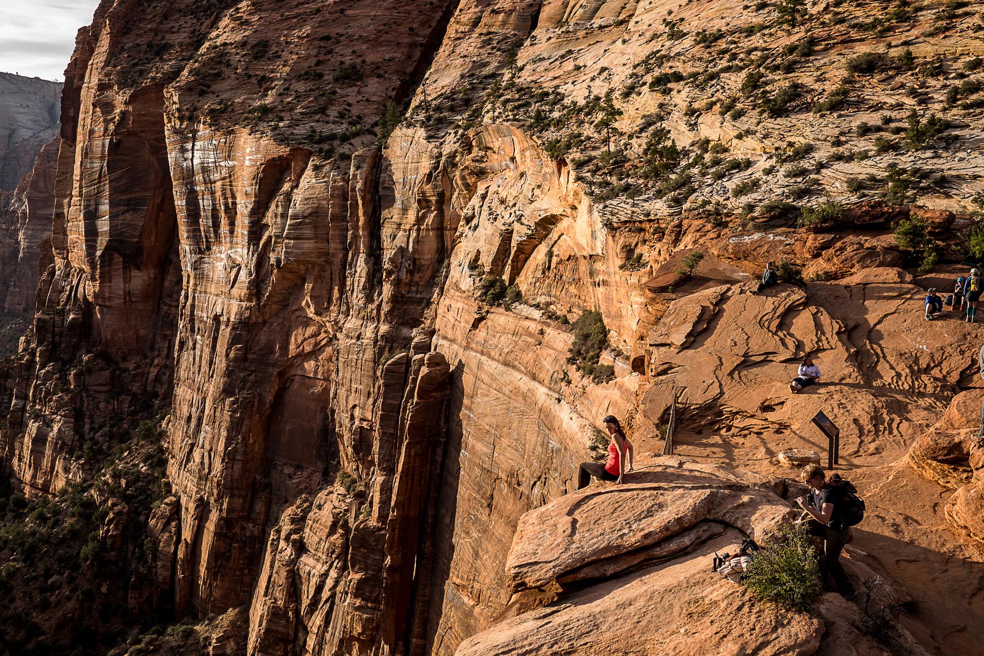 Overlook, Zion National Park