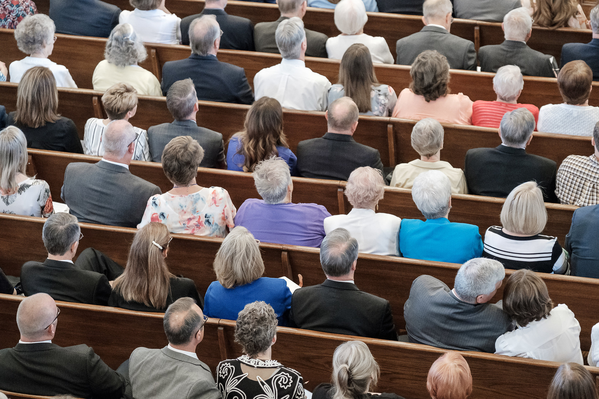 St. George Tabernacle Re-Dedication for the Deseret News
