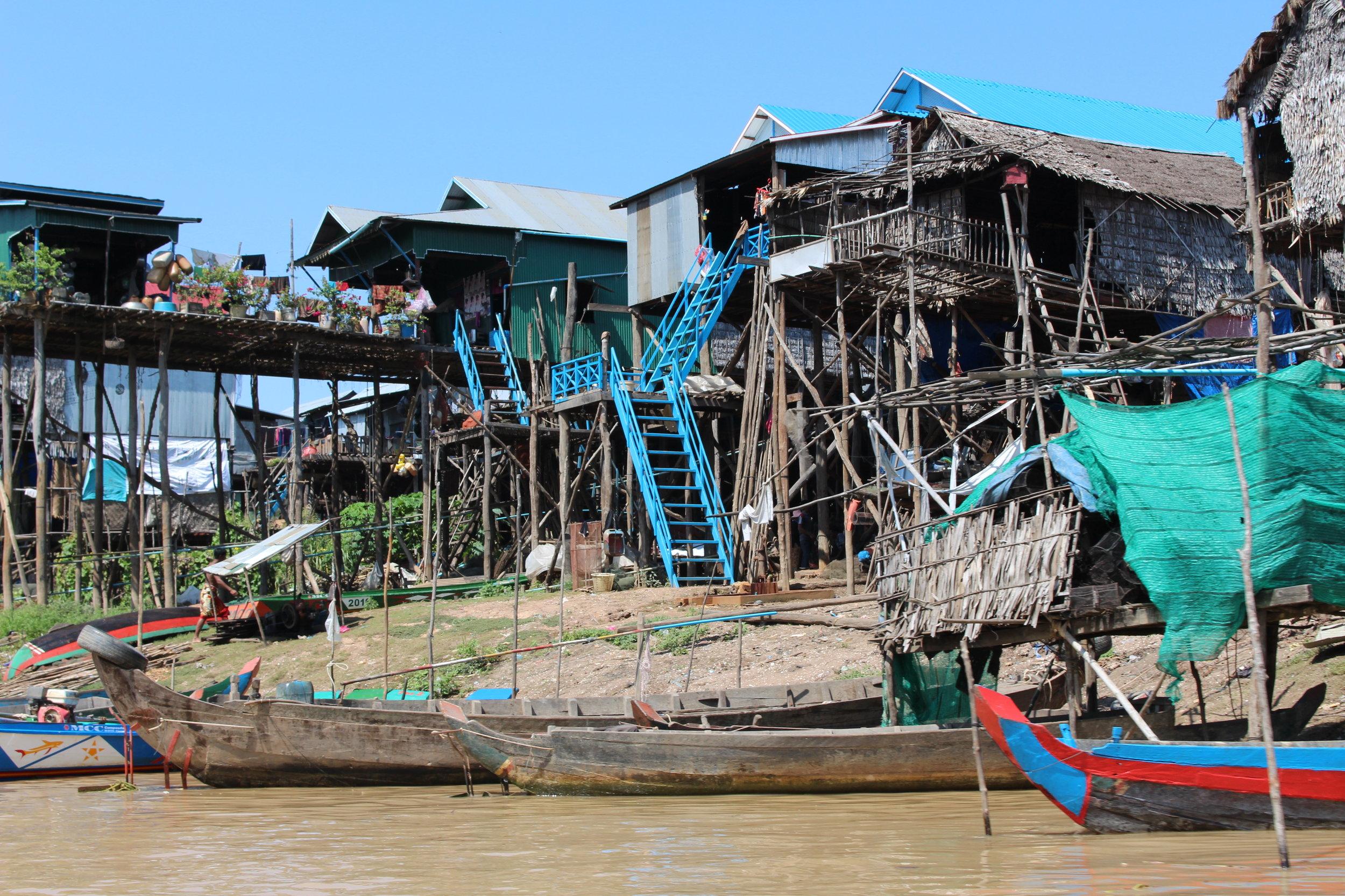 Floating Villages - Lake Tonle Sap, Cambodia