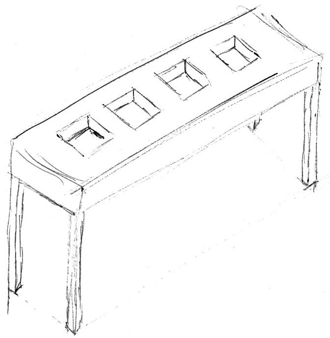 The console table that started it all!