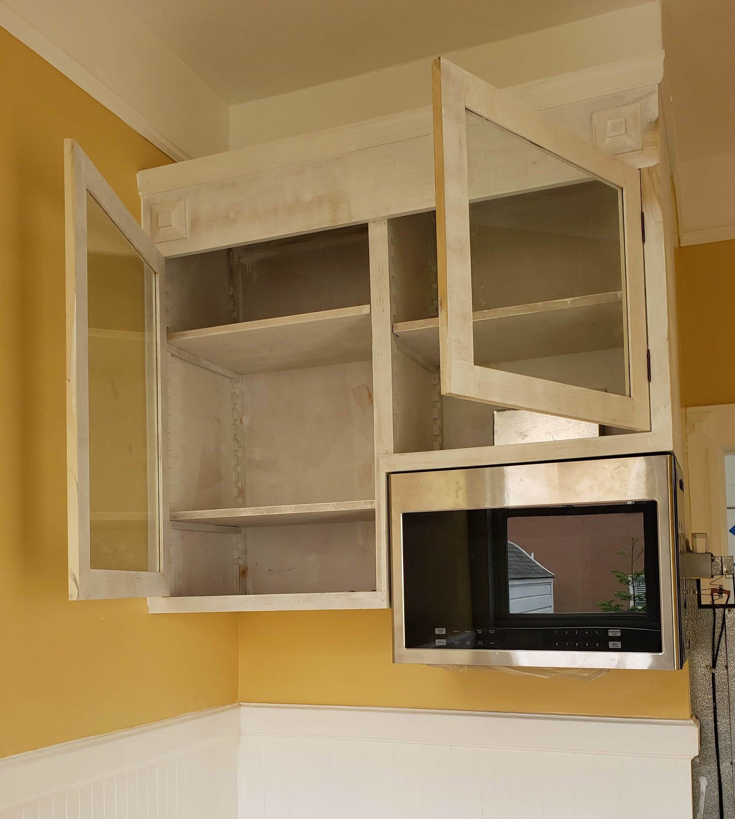 Hanging Microwave Cabinet
