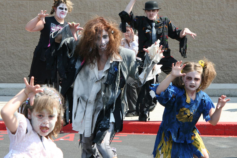 Zombies at Walmart!