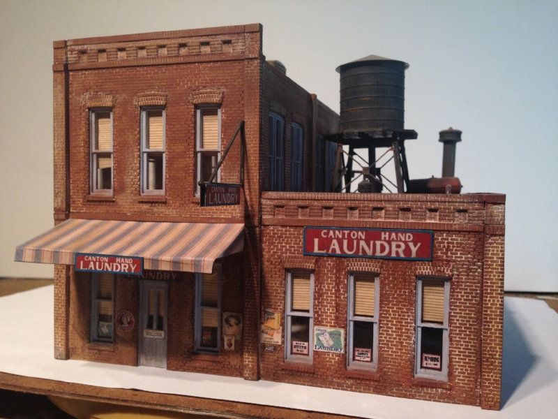 Laundry Building: $120