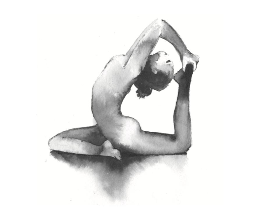 Ilustración de Carola Zerbone del libro  Hinduismo para la vida moderna .