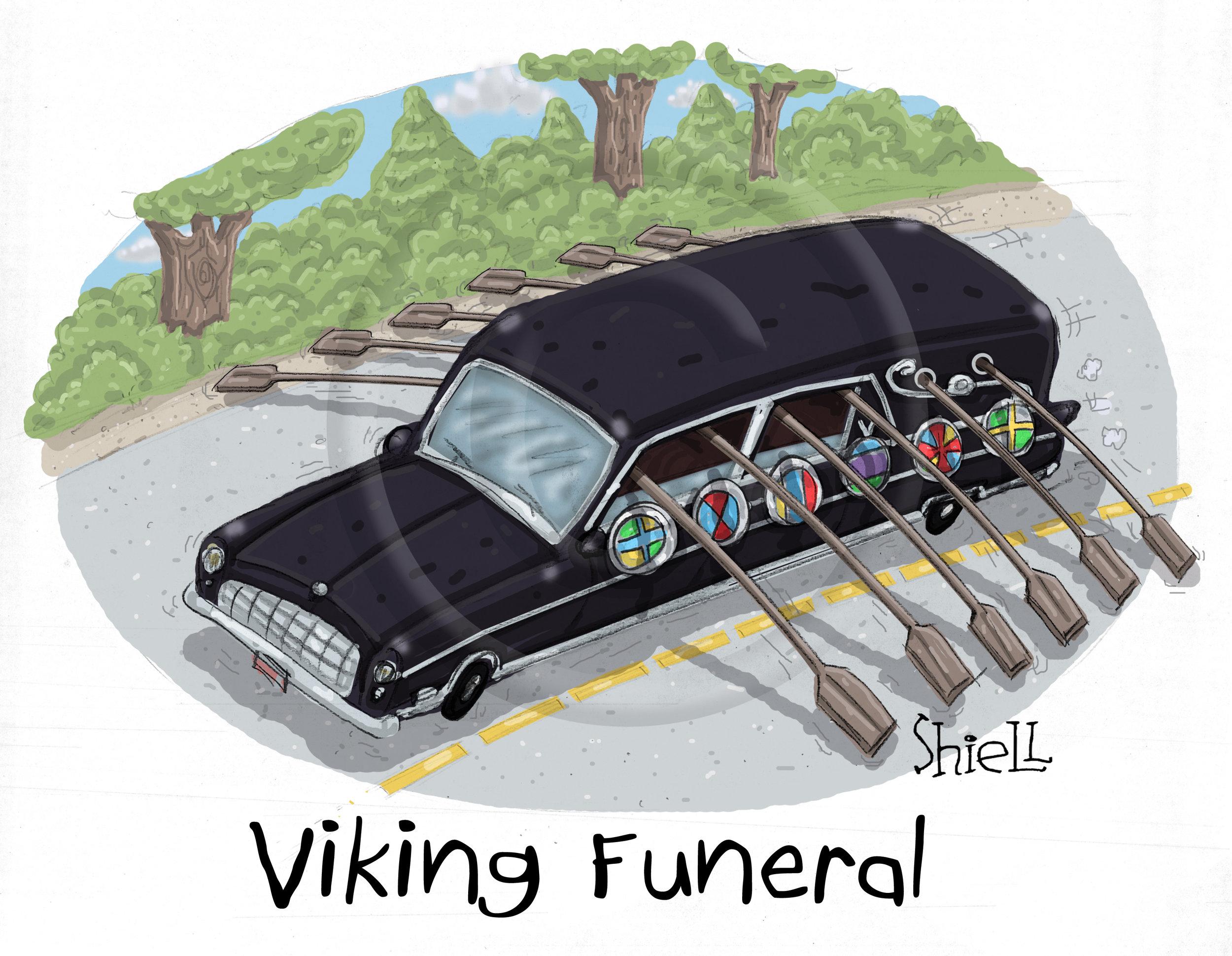 Viking Funeral.